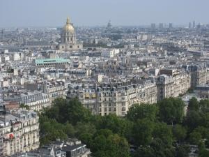 Paris 2 Dünyaca Ünlü Şehirler Kanvas Tablo