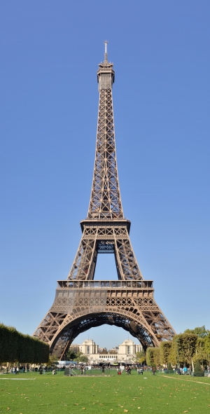 Paris Eyfel Kulesi Dünyaca Ünlü Şehirler Kanvas Tablo