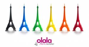Paris Eyfel Kulesi İllistrasyon Çizim Dünyaca Ünlü Şehirler Kanvas Tablo