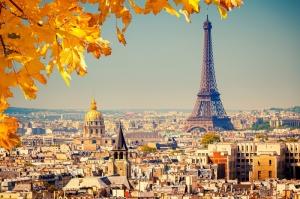 Paris Eyfel Kulesi Manzara-104 Dünyaca Ünlü Şehirler Kanvas Tablo