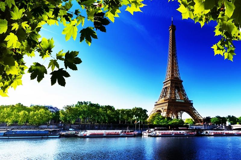Эйфелева Башня  Париж Франция  обзор фото история