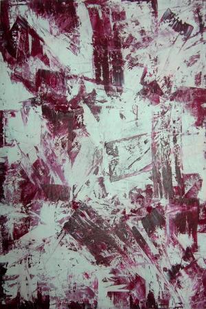 Patlama Soyut Abstract Sanat Kanvas Tablo