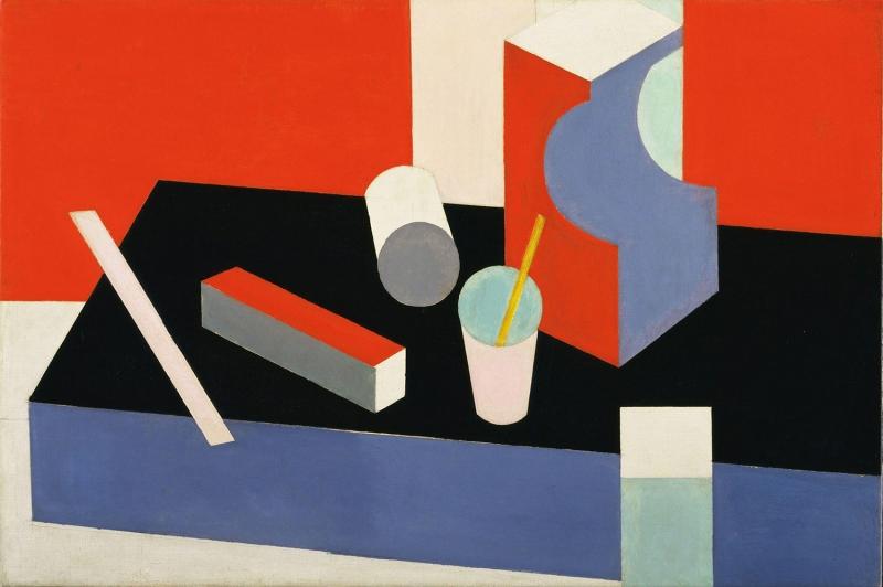 Patrick Henry Bruce Yagli Boya Klasik Sanat Kanvas Tablo