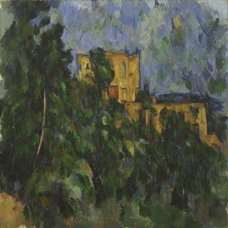 Paul Cezanne 1 Yagli Boya Klasik Sanat Kanvas Tablo