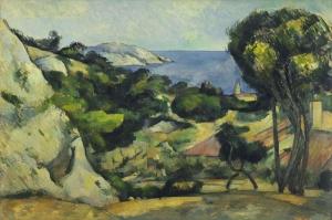 Paul Cezanne 2 Yagli Boya Klasik Sanat Kanvas Tablo