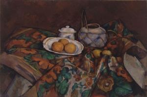 Paul Cezanne Portakallar Yagli Boya Klasik Sanat Kanvas Tablo