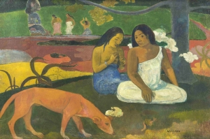 Paul Gauguin 1 Reproduksiyon Kanvas Tablo