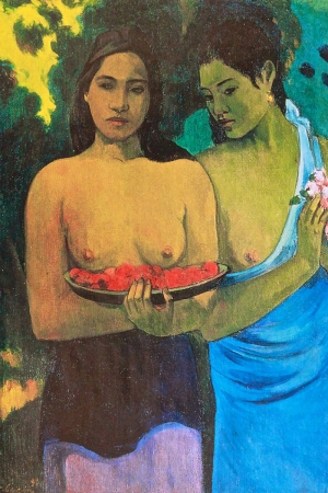 Paul Gauguin-10 Reproduksiyon Kanvas Tablo