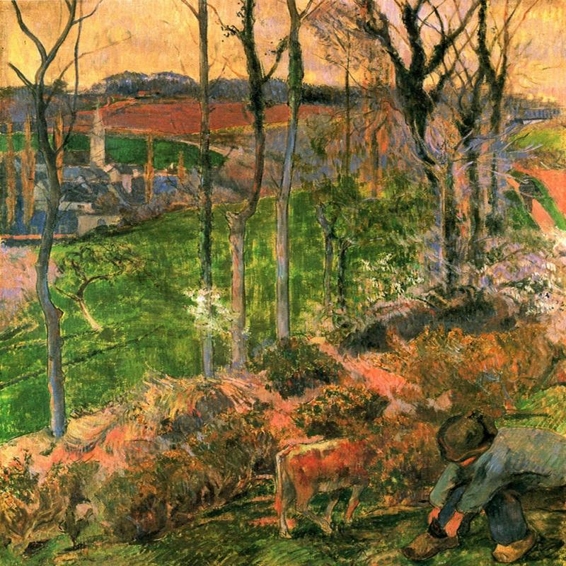 Paul Gauguin-11 Reproduksiyon Kanvas Tablo