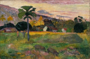 Paul Gauguin 2 Reproduksiyon Kanvas Tablo