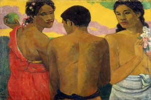 Paul Gauguin 3 Reproduksiyon Kanvas Tablo