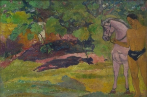Paul Gauguin 5 Reproduksiyon Kanvas Tablo