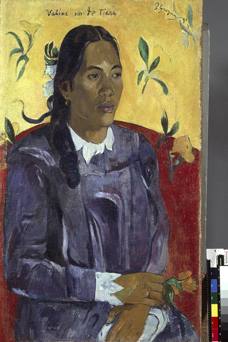 Paul Gauguin-6 Reproduksiyon Kanvas Tablo