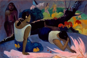 Paul Gauguin 9 Reproduksiyon Kanvas Tablo