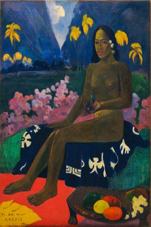Paul Gauguin\\\'in Tohumları The Seed Of The Areoi Paul Gaugin Reproduksiyon Kanvas Tablo