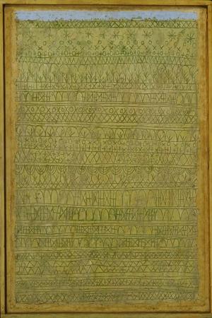 Paul Klee Etnik Yagli Boya Klasik Sanat Kanvas Tablo