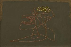 Paul Klee Makyaj Yagli Boya Klasik Sanat Kanvas Tablo