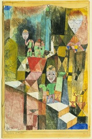 Paul Klee Mucizeyi Sunus Yagli Boya Klasik Sanat Kanvas Tablo