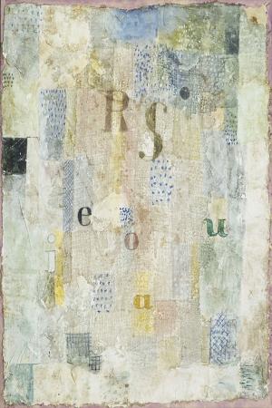 Paul Klee Sarkici Rosa Silberinsozel Kumasi Yagli Boya Klasik Sanat Kanvas Tablo