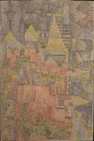 Paul Klee Satonun Bahcesi Yagli Boya Klasik Sanat Kanvas Tablo