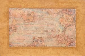 Paul Klee Sonsuzluga Esit Yagli Boya Klasik Sanat Kanvas Tablo