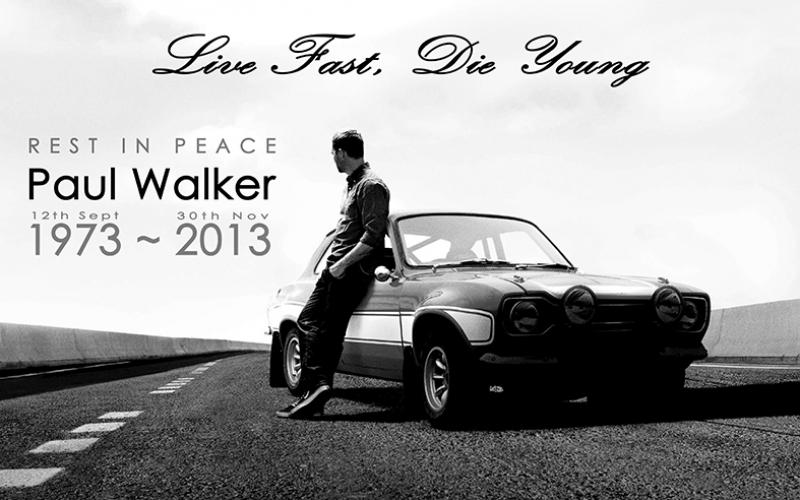 Paul Walker Ünlü Yüzler Kanvas Tablo