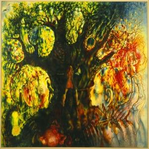 Pavel Tchelitchew Sakli ve Gizli Yagli Boya Klasik Sanat Kanvas Tablo