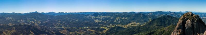 Pedra Selada Dağları Panaromik Kanvas Tablo