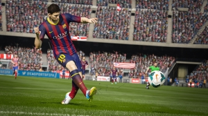 Pes 2013 Lionel Messi Oyun Kanvas Tablo