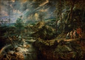 Peter Paul Rubens Jüpiter Merkür Klasik Sanat Kanvas Tablo
