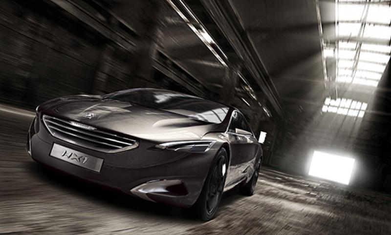 Peugeot Spor Otomobil Kanvas Tablo