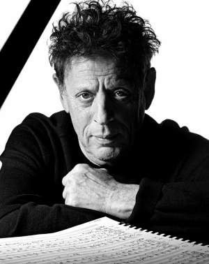 Philip Glass Ünlü Yüzler Kanvas Tablo