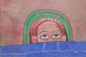 Philip Guston Kaynak Yagli Boya Klasik Sanat Kanvas Tablo
