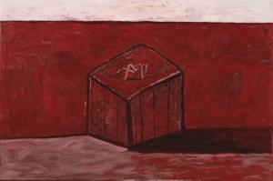 Philip Guston Kutu ve Golgesi Yagli Boya Klasik Sanat Kanvas Tablo