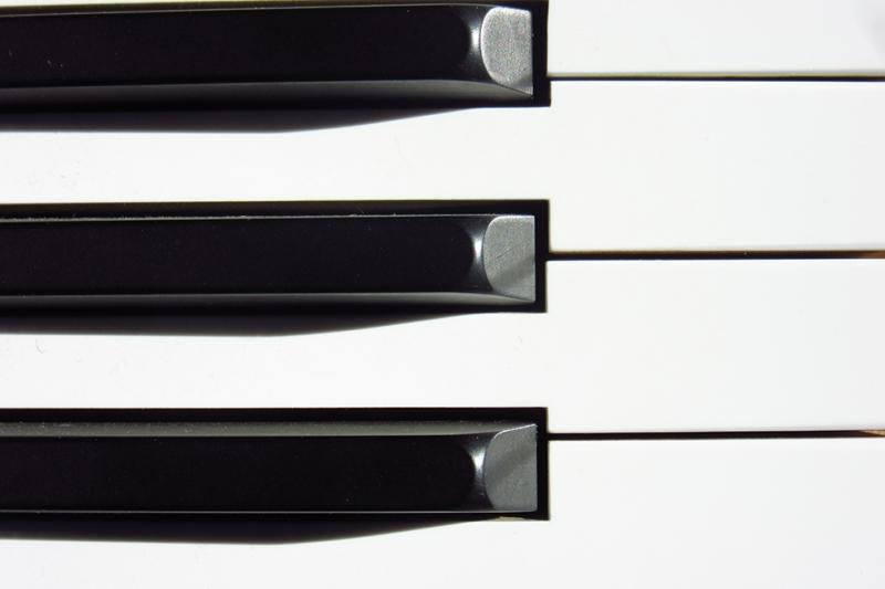 Piano Siyah Beyaz Fotoğraf Kanvas Tablo