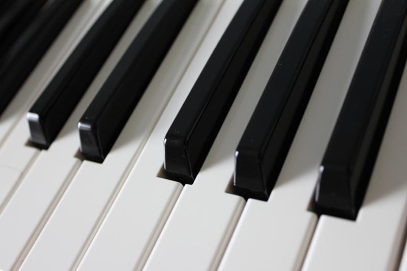 Piano Tuşları Fotoğraf Kanvas Tablo