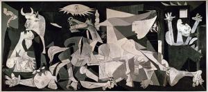 Picasso Guernica Yağlı Boya Sanat Kanvas Tablo