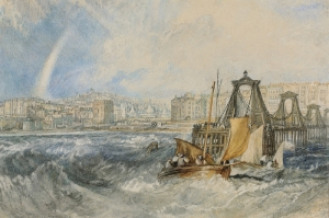 Pier Brighton Zinciri, Joseph Mallord William Turner, Klasik Sanat Kanvas Tablo