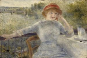 Pierre August Renoir-2 Klasik Sanat Kanvas Tablo