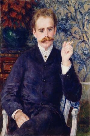 Pierre August Renoir, French Albert Cahen Danvers Klasik Sanat Kanvas Tablo