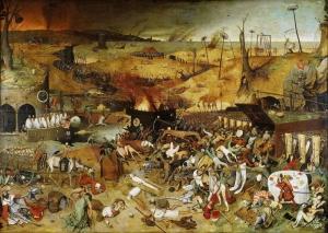 Pieter Bruegel Olum Zaferi Yağlı Boya Klasik Sanat Kanvas Tablo