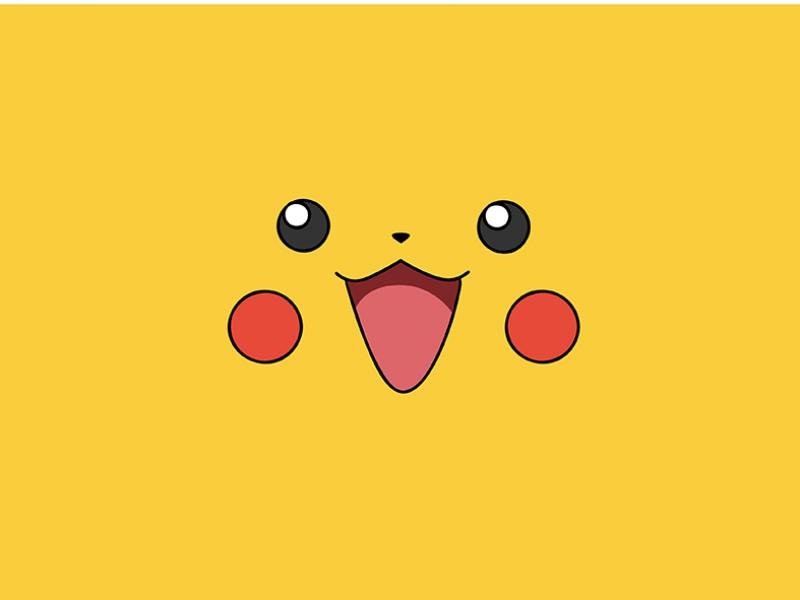 Pikachu Pokemen Popüler Kültür Kanvas Tablo