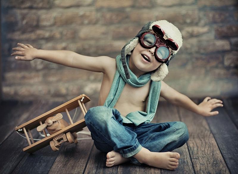 Pilot Çocuk Bebek & Çocuk Dünyası Kanvas Tablo