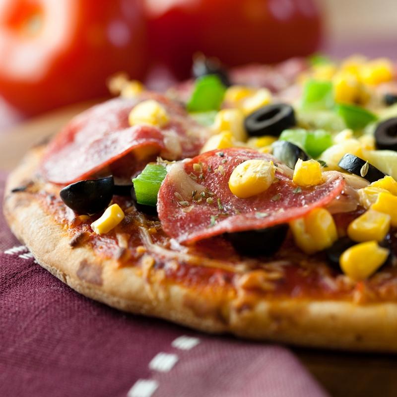 Pizza 8 Lezzetler Kanvas Tablo