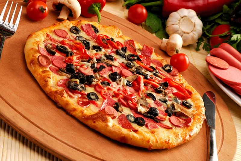 Pizza Lezzetler Kanvas Tablo