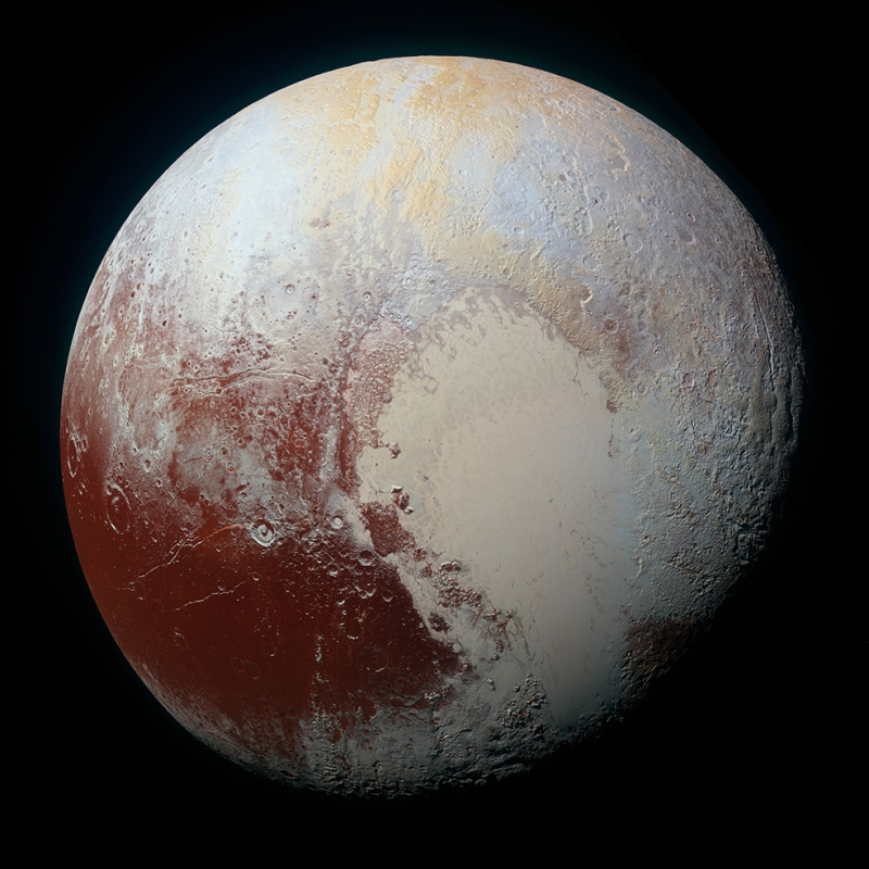 Pluton 3 Dünya & Uzay Kanvas Tablo