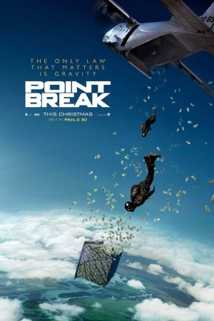 Point Break-2015 Film Afişi Sinema Kanvas Tablo