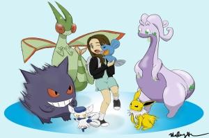 Poke Crew Pokemon Karakterleri Kanvas Tablo