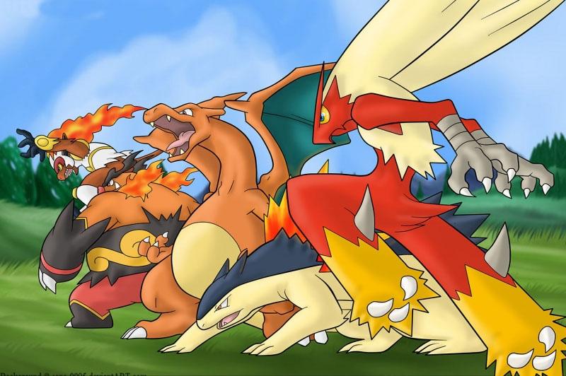 Pokemon 4 Canvas Tablo Arttablo