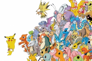 Pokemon Pikachu Pokemon Karakterleri Kanvas Tablo